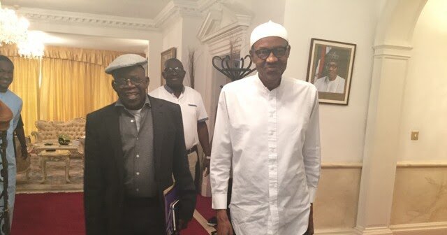 Image result for buhari and tinubu in london