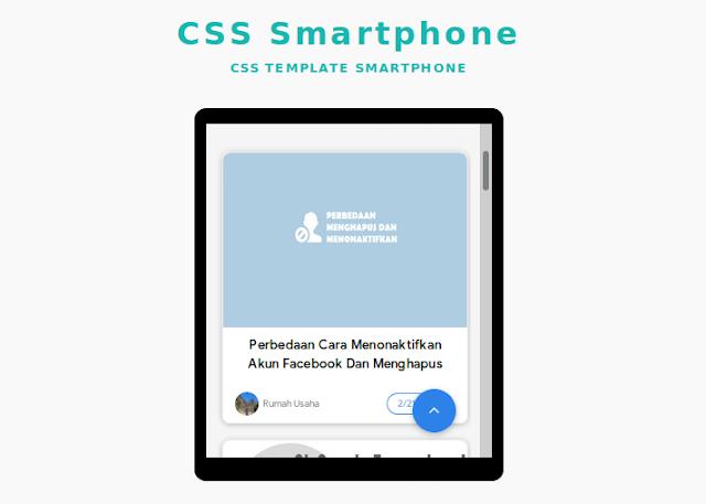 [#Coding] Membuat Tampilan Smartphone Menggunakan CSS dan HTML