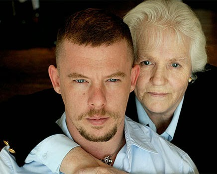 The london dead the price of fame joyce and ronald for Alexander mcqueen interview