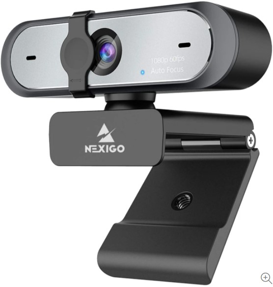 NexiGo N660P Pro HD USB Computer Web Camera