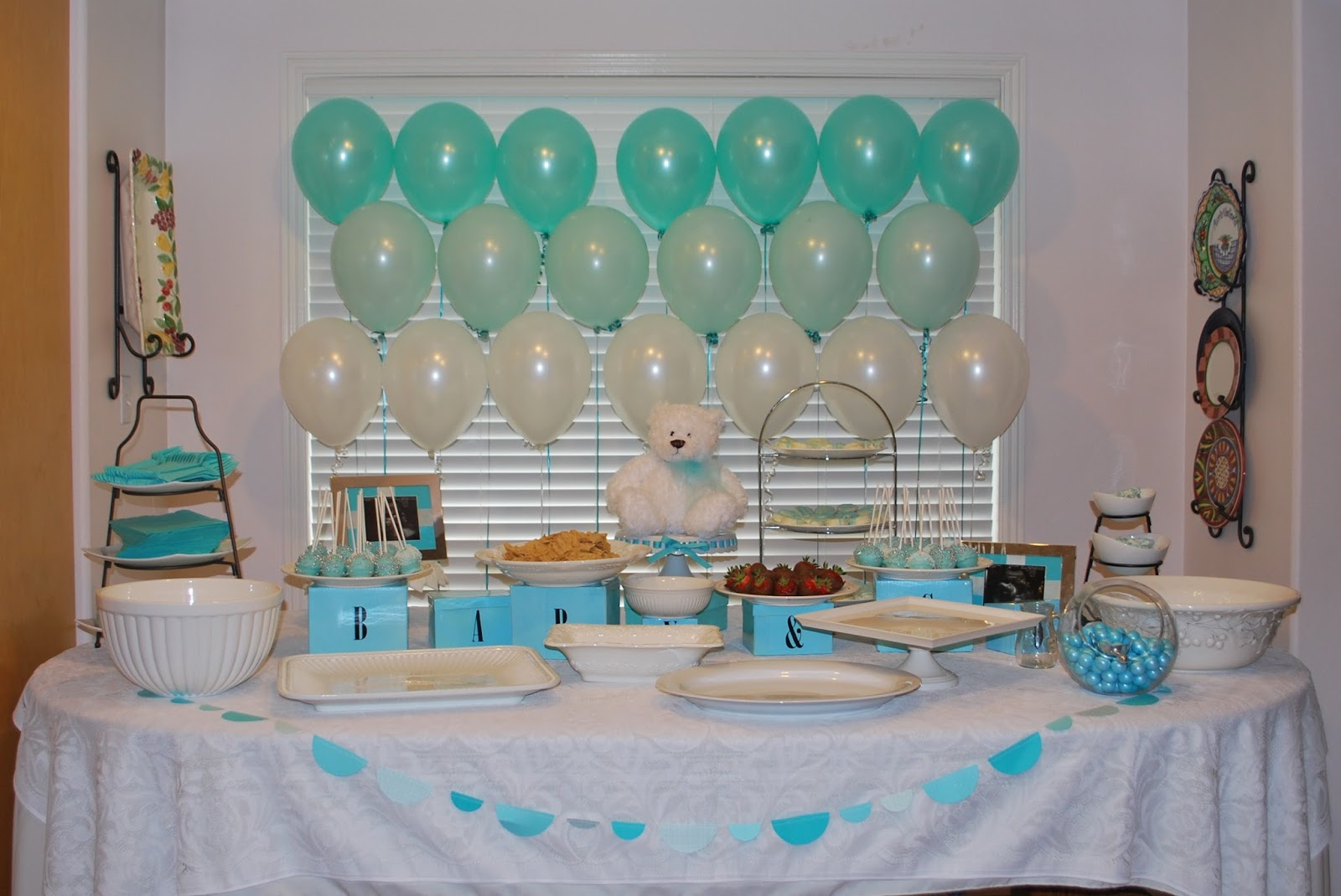 Tiffany Co Baby Shower Cakes