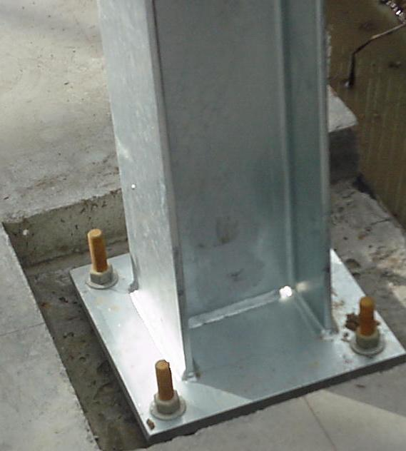 Base Plate For Steel Column