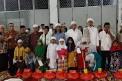 Menjelang 10 Muharram, Pengurus RW.02 Jembatan Lima Santuni 40 Anak Yatim