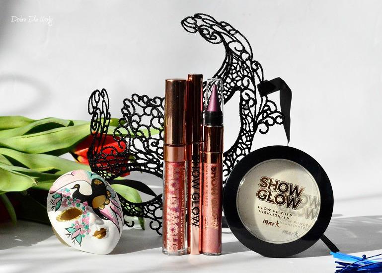 Nowość Avon Show Glow - kosmetyki do makijażu