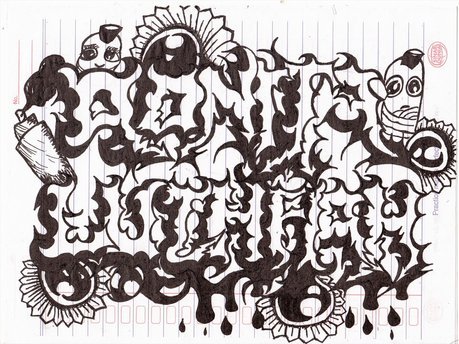 Gambar Gambar Grafiti Doodle  Sobgrafiti