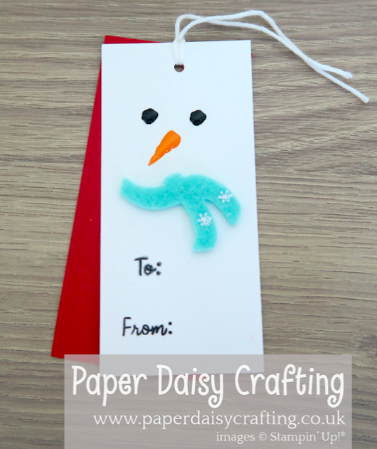 Nigezza Creates With Paper Daisy Crafting using Stampin Up Let It Snow Embellishment Kit
