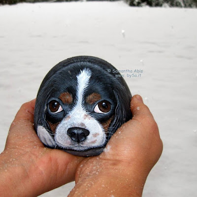 prezzi sassi dipinti cani bysa