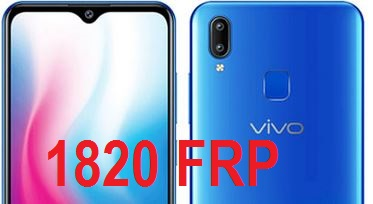 Vivo 1820 Frp Bypass and Google Account Reset.