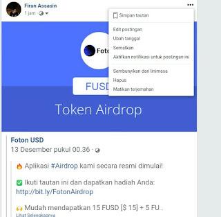 Foton USD (FUSD) Airdrop