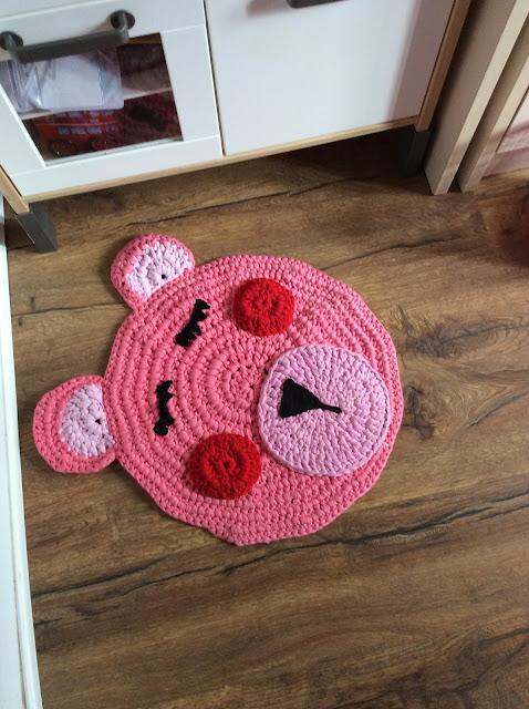 Manualizando alfombras de trapillo - Alfombras pequenas ...