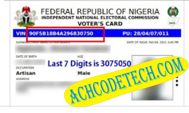 Voters Registration Status