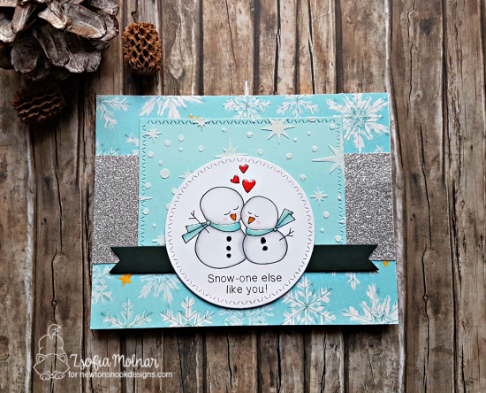 Snow-one else like you by Zsofia features Starfield and Frozen Friends by Newton's Nook Design; #newtonsnook
