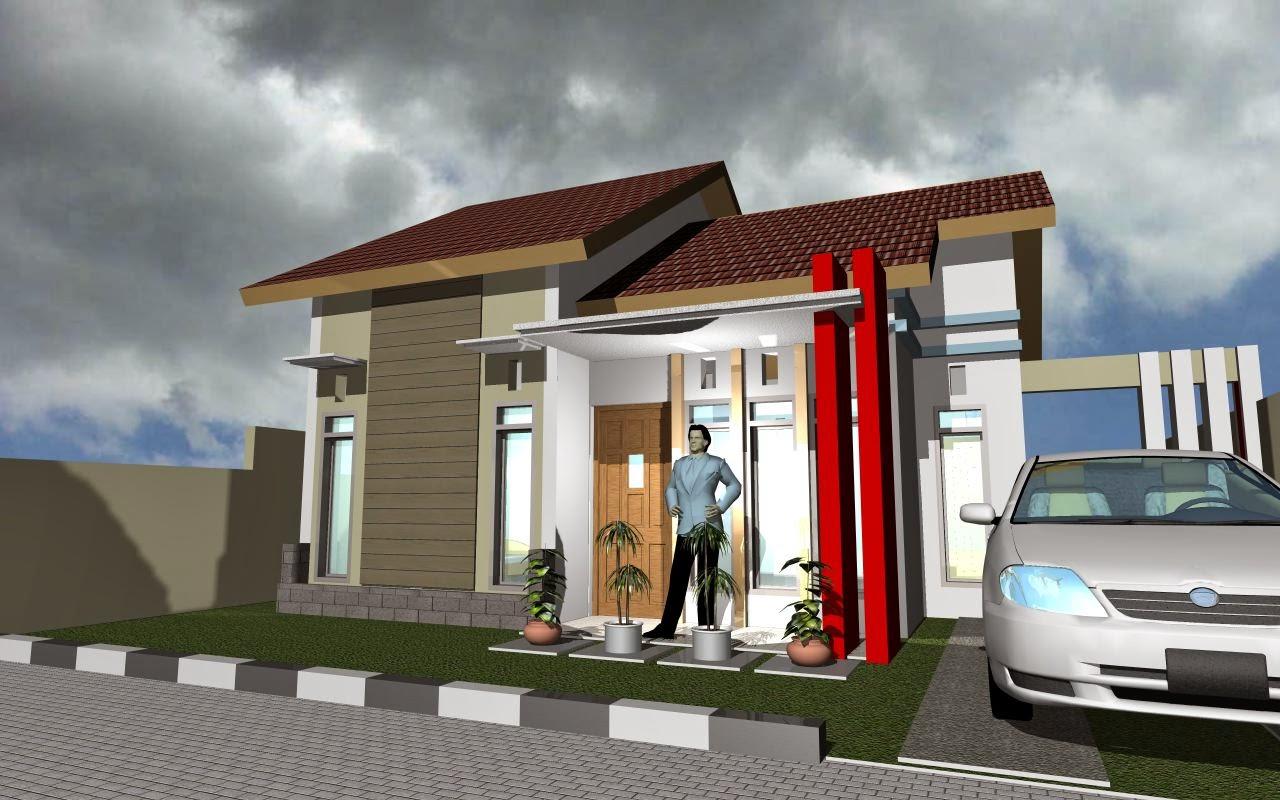 80 Model Teras Rumah Potong Gudang Sisi Rumah Minimalis