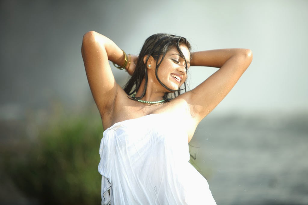 meghana raj hot stills in yakshiyum njanum movie   south