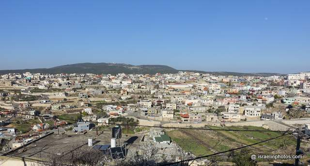 A Druze village on Mount Meron