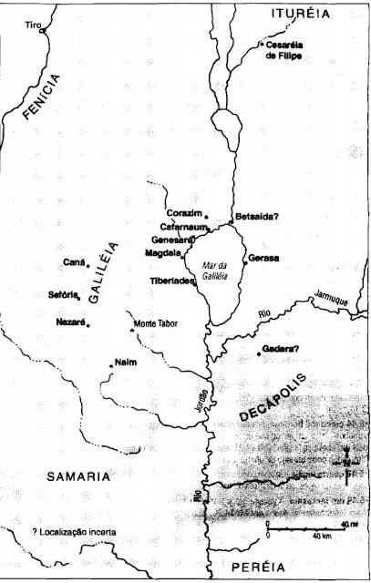 Mas sua cidade de origem o rejeitou. Por isso, ele foi para Cafarnaum, uma próspera cidade pesqueira situada junto a uma rota comercial internacional.
