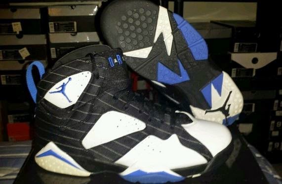 sports shoes 10aa7 b9b29 Unreleased Air Jordan 7 DMP 60+ Pack Orlando Magic SAMPLE Sneaker (Images)