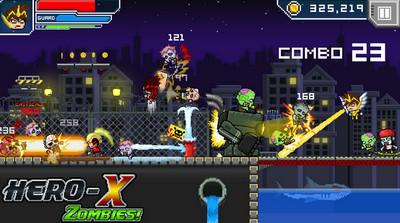 HERO-X: Zombies! MOD APK 1.0.0 (Unlimited Money)