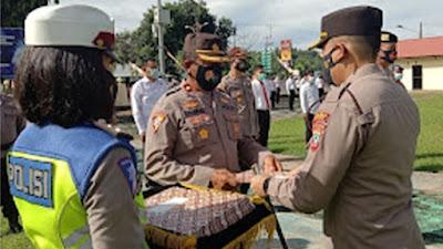 Berprestasi, 21 Personel Polres Minsel Terima Penghargaan