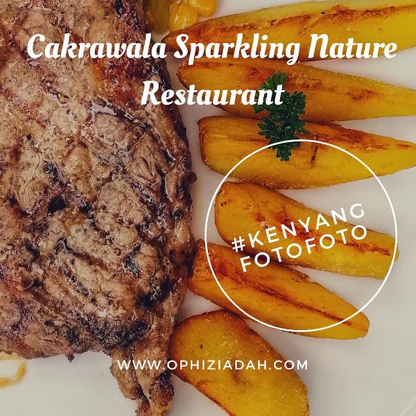 [Review] Kenyang & Foto-Foto di Cakrawala Sparkling Nature Restaurant