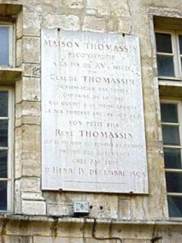 Maison Thomassin de lyon