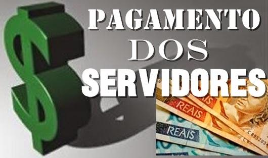 Resultado de imagem para Governo anuncia pagamento dos servidores nesta segunda-feira