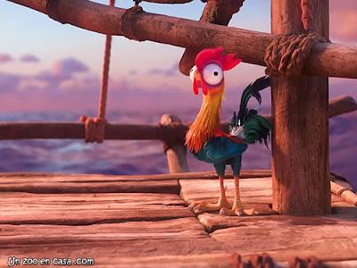 Heihei, el gallo de Vaiana