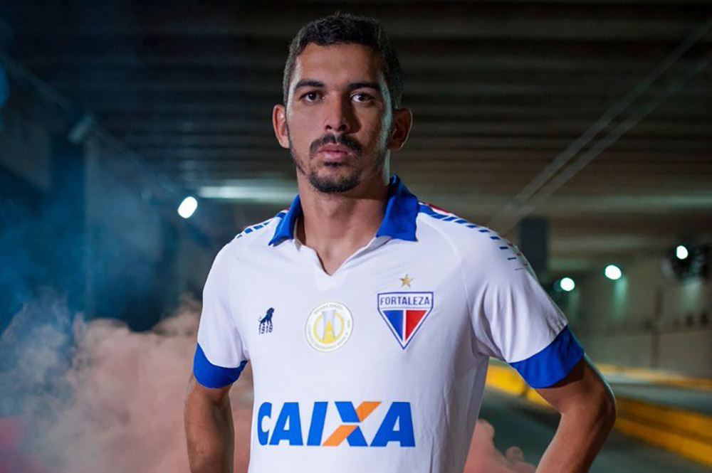 97a82bc4aa A Leão1918 lançou oficialmente a nova camisa reserva do Fortaleza EC 2019