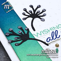 Stampin' Up! Card Idea with Blended Seasons & Stitched Seasons Bundle order from Mitosu Crafts UK Online Shop