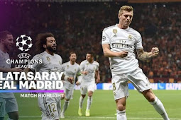 Cuplikan Gol Liga Champions Galatasaray vs Real Madrid 0-1