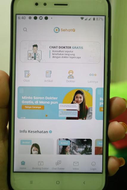 Applikasi SehatQ.com