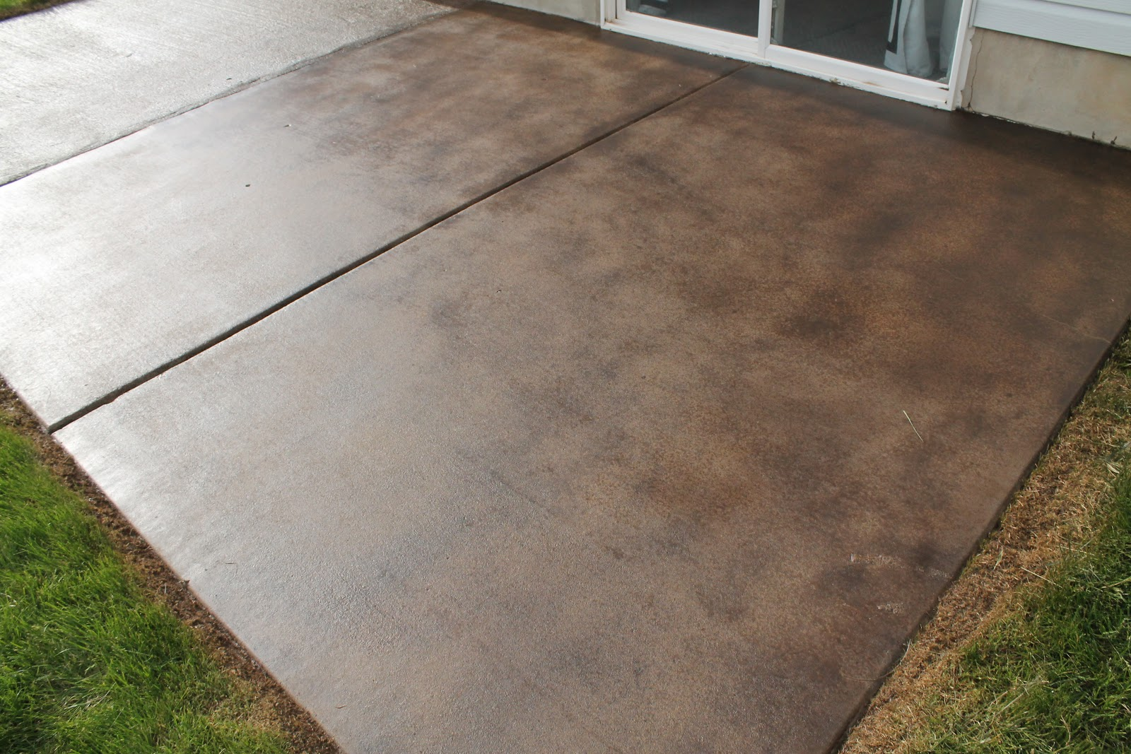How To Stain Concrete Patio Yourself