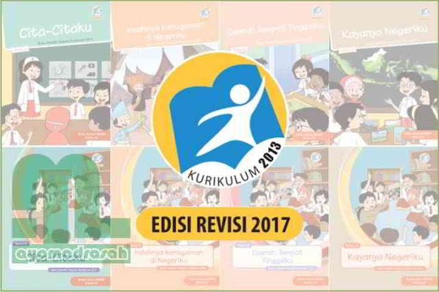 Buku K13 Revisi 2017 Kelas 4 SD/MI Semester 2