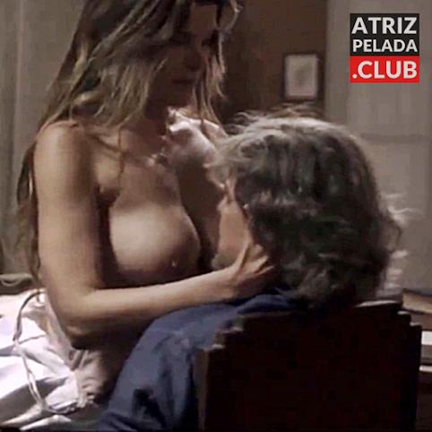 Cristiana Oliveira nua MOSTRANDO OS PEITOS em novela. COROA MUITO SEXY