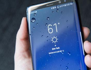 Spesifikasi Sensor dan IP68 Samsung Galaxy S8 Plus