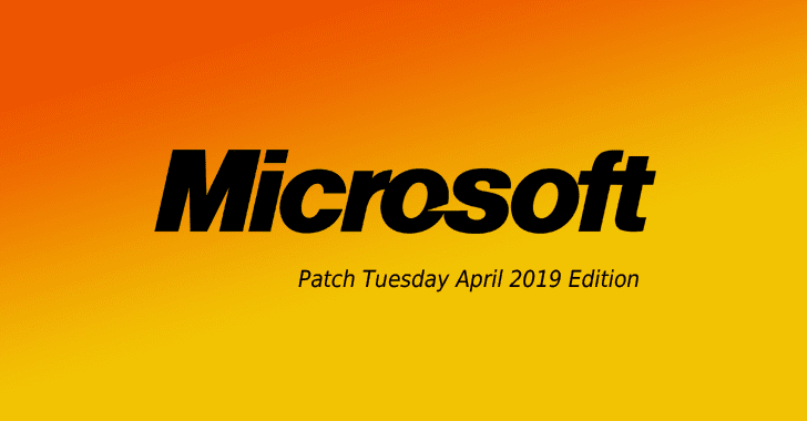 Microsoft releases april 2019 security updates — two flaws under.