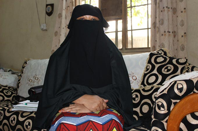 "I have links with Boko Haram and the military knows - 3rd ""wanted"" journalist Aisha Wakil"