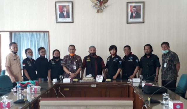 DPD LSM Garda Nasional (Ganas) Provinsi Jawa Tengah Audiensi Dengan Dinas Sosial