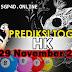 Prediksi Togel HK 29 November 2020