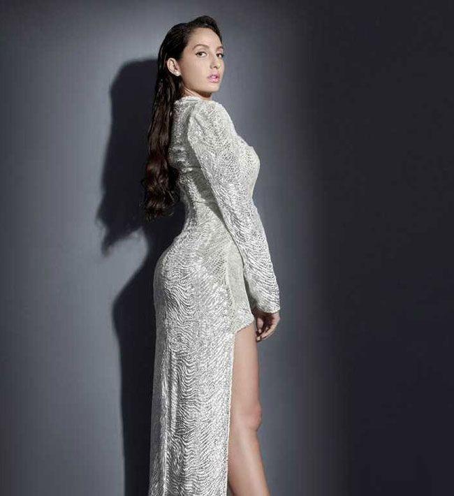 Actors Gallery: Nora Fatehi Looks Beautiful In White Dress