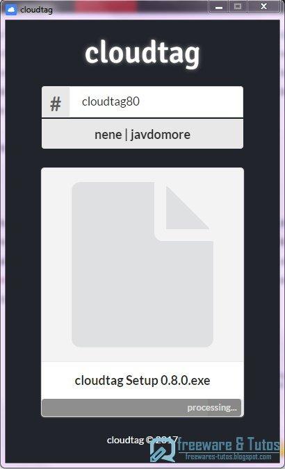 Cloudtag : un logiciel de partage de fichiers sans limites