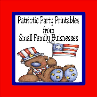 No matter what patriotic holiday you are celebrating, party favors and party decorations from small family businesses supports your party and the American dream.  Check out these party printables inluding patriotic party decorations, party invitiations, and so much more.
