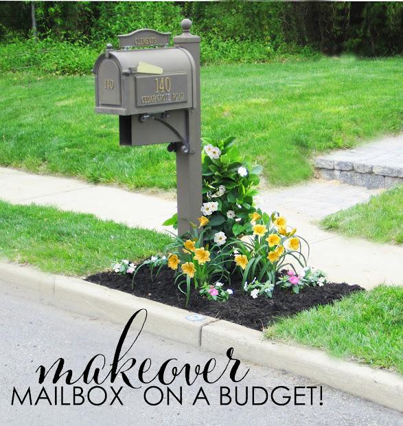 design mailbox makeover
