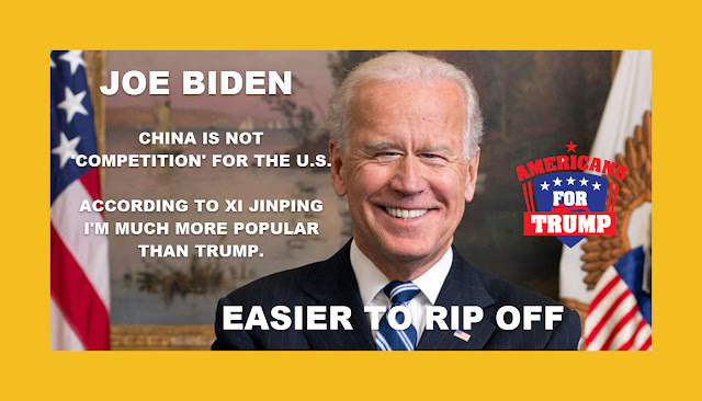Memes: JOE BIDEN CHINA IS NOT 'COMPETITION' FOR THE U.S.