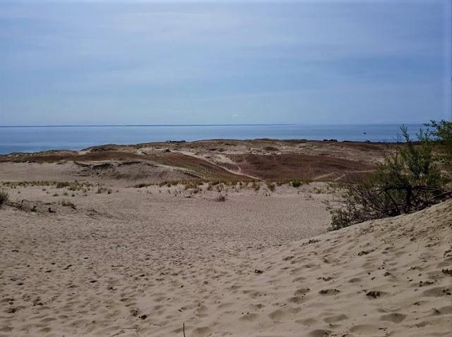 panorama sulla laguna di curonian