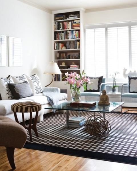 Stylish Living Room Decorating: Modern Furniture: 2013 Stylish And Feminine Living Rooms