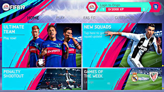 FIFA 19 MOD FIFA 14 V1 Android Offline New Menu,Kits,Transfers