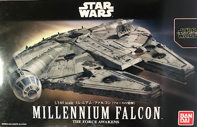 Bandai Millennium Falcon Box Art