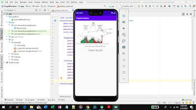 demo launching aplikasi android studio