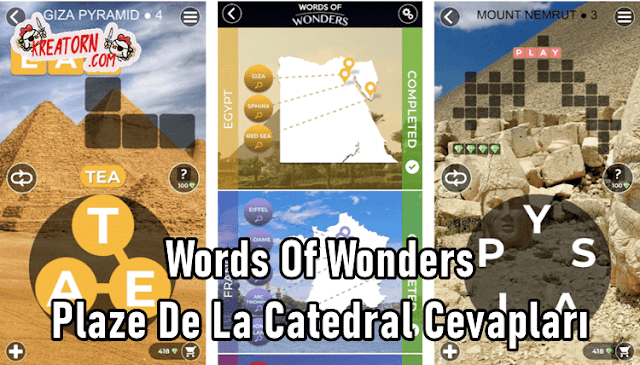 Words-Of-Wonders-Plaze-De-La-Catedral-Cevaplari